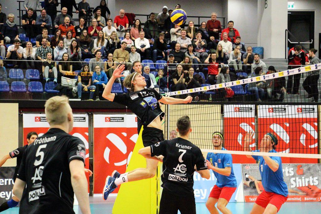 SSV HIB LIEBENAU vs. VCA AMSTETTEN NÖ - Image shows: #13 Karl Jurkovics