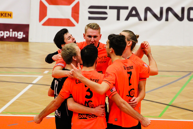 DenizBank AG Volley League Men 2017/18 SG VCA Amstetten NÖ/hotVolleys vs SK Posojilnica Aich/Dob - Credit: Peter Maurer - Bild zeigt: SG VCA Amstetten NÖ/hotVolleys
