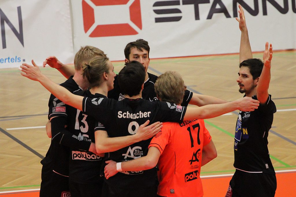 DenizBank AG Volley League Men 2017/18 SG VCA Amstetten NÖ/hotVolleys vs Union Raiffeisen Waldviertel - 11.02.2018 - Credit: Peter Maurer - Bild zeigt: SG VCA Amstetten NÖ/hotVolleys