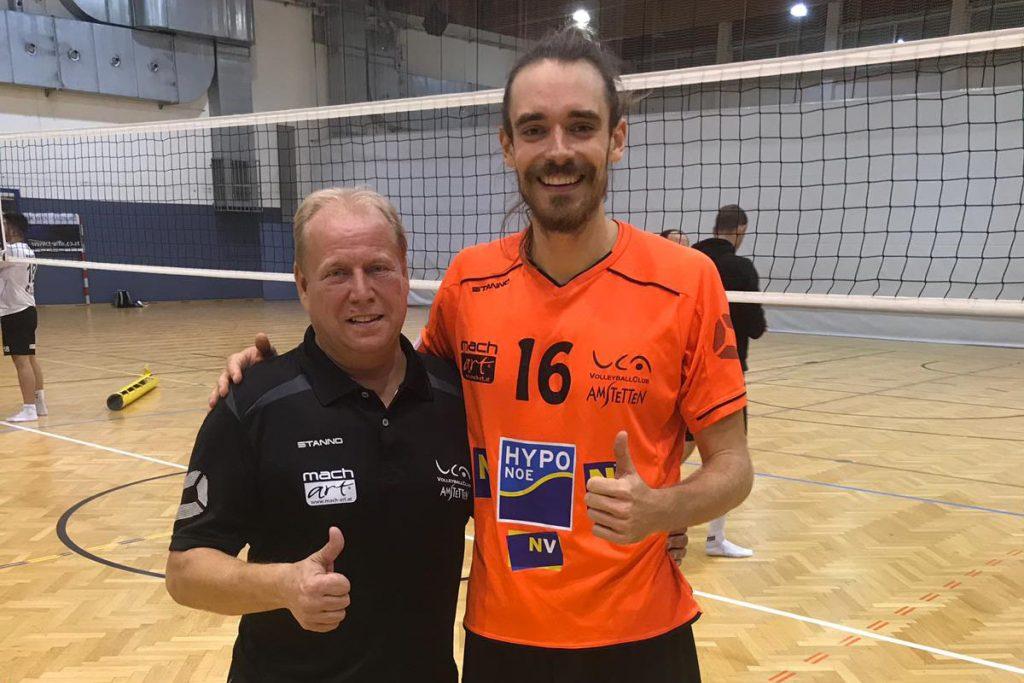 Michael Henschke und Daniel Müllner