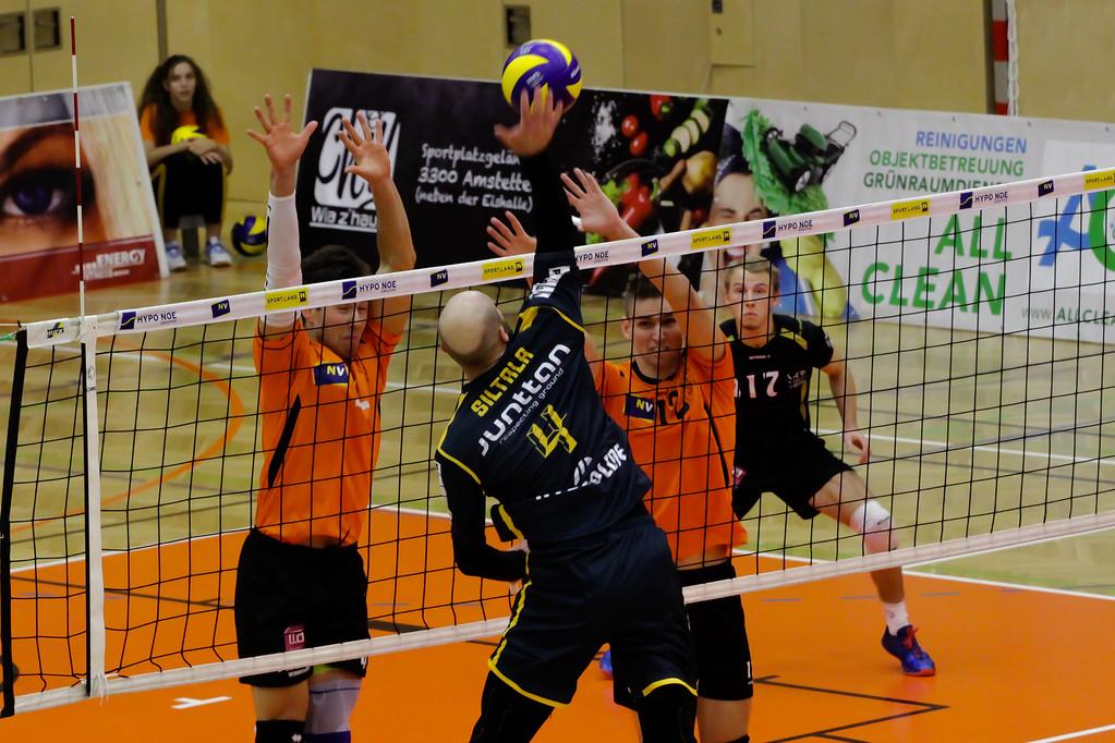 CEV CHALLENGE CUP: SG VCA Amstetten NÖ gg. Savo Volley Kuopio (FIN) - 04/12/2018 - Bild zeigt: - Credit: Peter Maurer