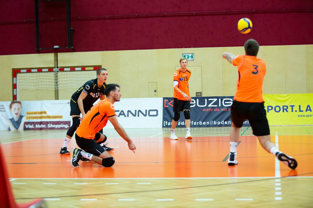 VCA Amstetten NÖ gg. Sokol V, DenizBank AG Volley League Men 2019/20 - Bild zeigt: SPIELERNAME - Credit: Markus Schiller - honorarfrei bei redaktioneller Verwendung