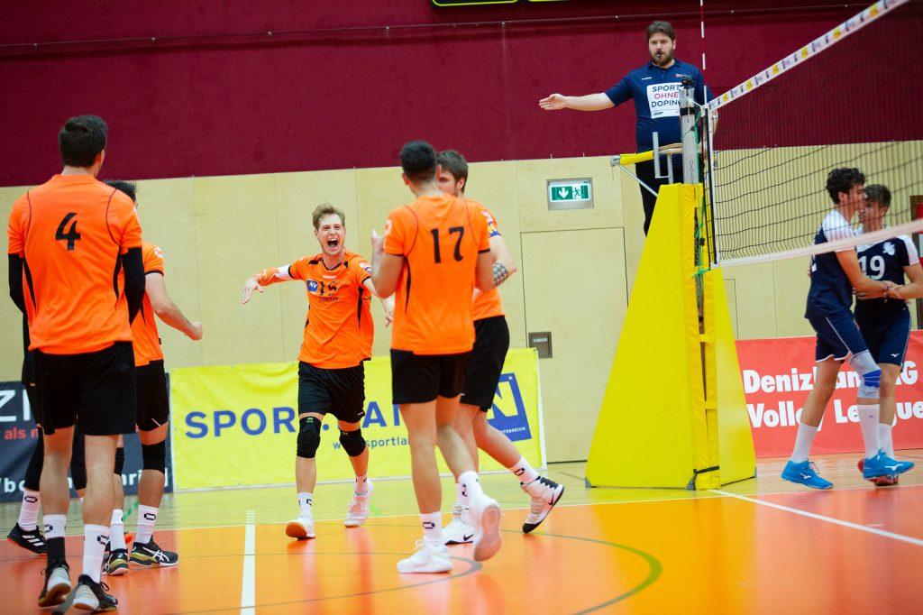 VCA Amstetten NÖ gg. Sokol V, DenizBank AG Volley League Men 2019/20 - Bild zeigt: ETLINGER - Credit: Markus Schiller - honorarfrei bei redaktioneller Verwendung