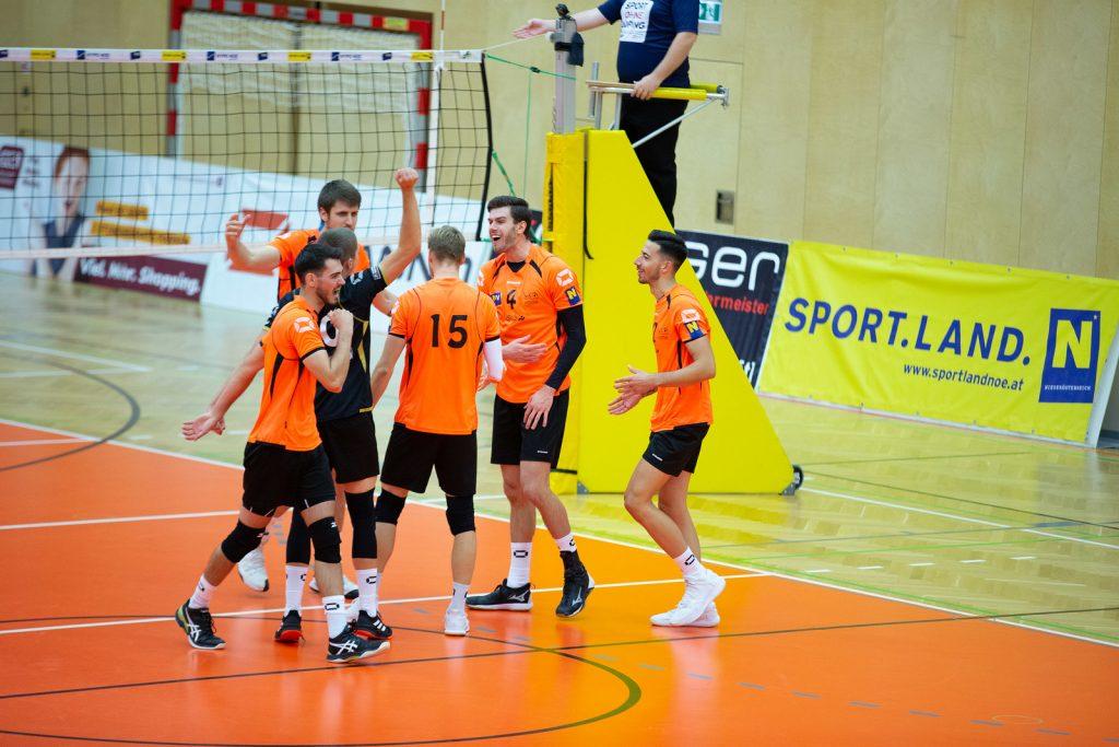 VCA Amstetten NÖ gg. Sokol V, DenizBank AG Volley League Men 2019/20 - Bild zeigt: SPIELERNAME - Credit: Markus Schiller - honorarfrei bei redaktioneller Verwendung