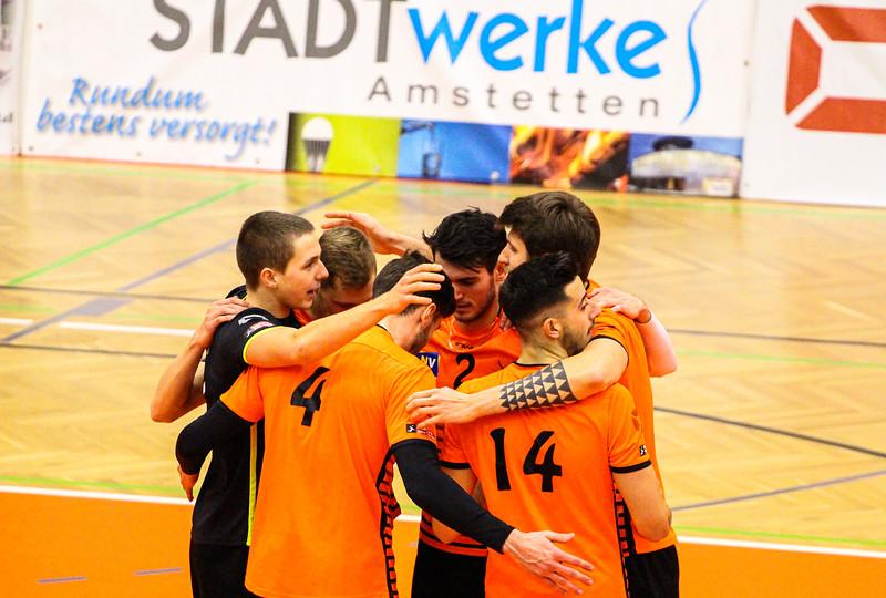 VCA Amstetten NÖ - VBC TLC Weiz - 08/12/2019 - Johann-Pölz-Halle, Amstetten - Credit: Peter Maurer