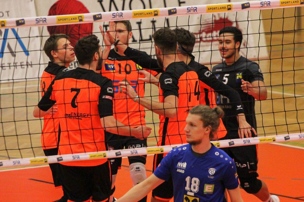 VCA Amstetten NÖ - TSV Raiffeisen Hartberg - 20/11/2020 - Johann-Pölz-Halle, Amstetten - Credit: Peter Maurer/SportPR
