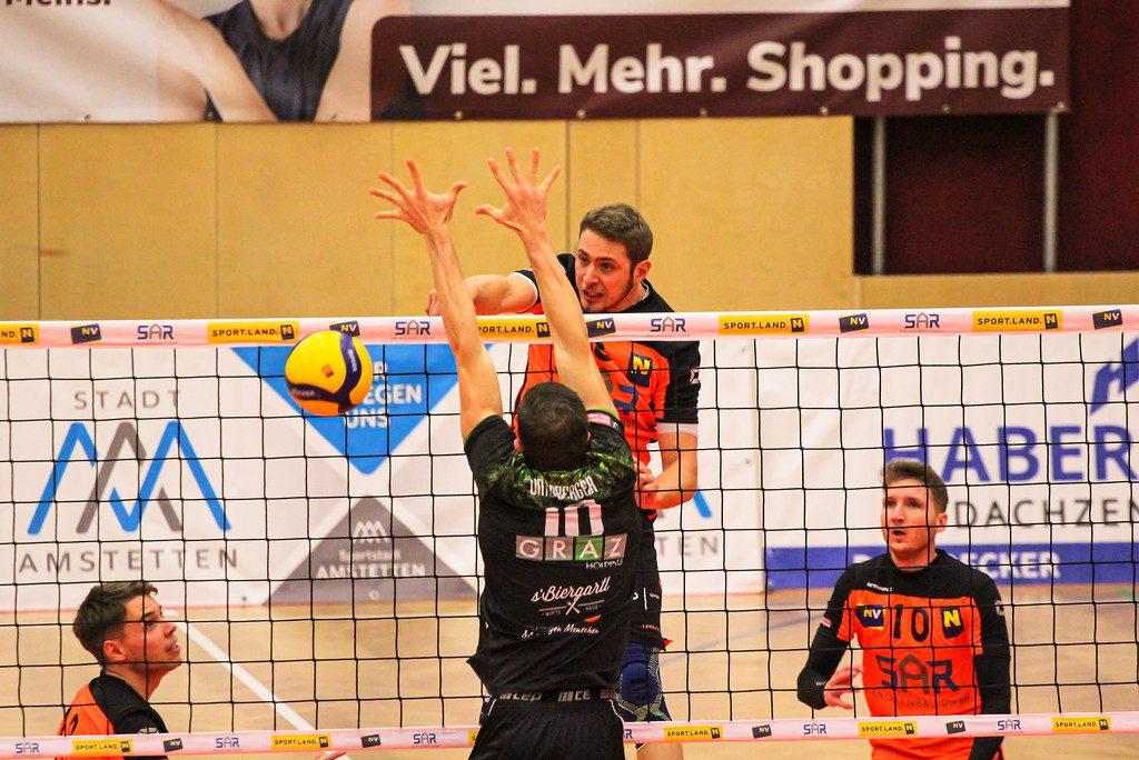 VCA Amstetten NÖ - UVC Holding Graz - 18/12/2020 - Johann-Pölz-Halle, Amstetten - Credit: Peter Maurer/SportPR