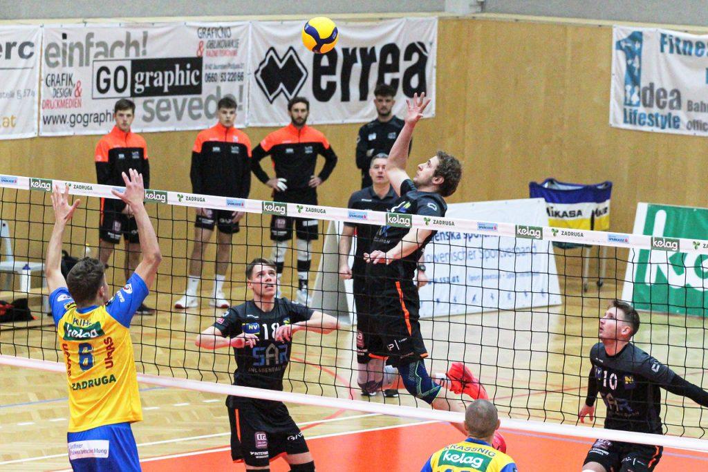 SK Zadruga Aich/Dob : VCA Amstetten NÖ - 13/12/2020 - Jufa-Arena, Bleiburg - Credit: Peter Maurer