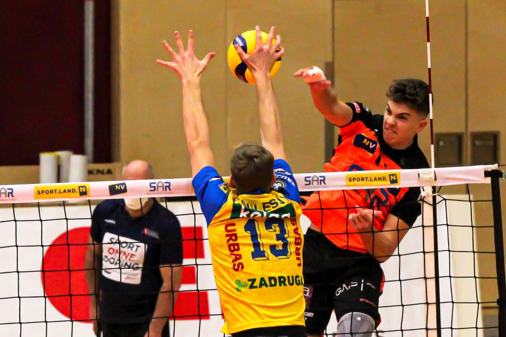 DenizBank AG Volley League Men - VCA Amstetten NÖ : SK Zadruga Aich/Dob - 10/02/2021 - Credit: Peter Maurer