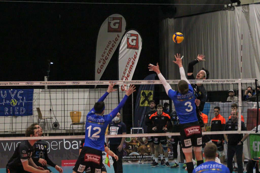 DenizBank AG Volley League Men - UVC Ried/Innkreis : VCA Amstetten NÖ - 25/02/2021 - Credit: Peter Maurer