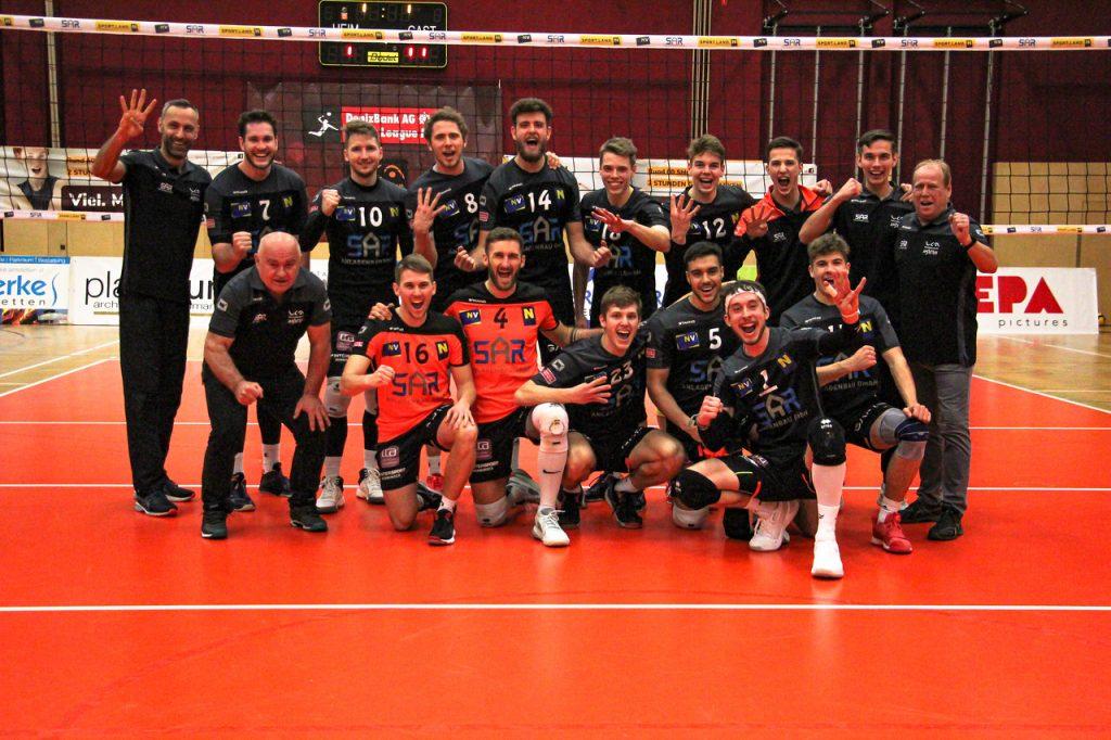 Viertelfinale - 2. Spiel - VCA Amstetten NÖ : UVC Weberzeile Ried/Innkreis - 06/03/2021 - Credit: Peter Maurer