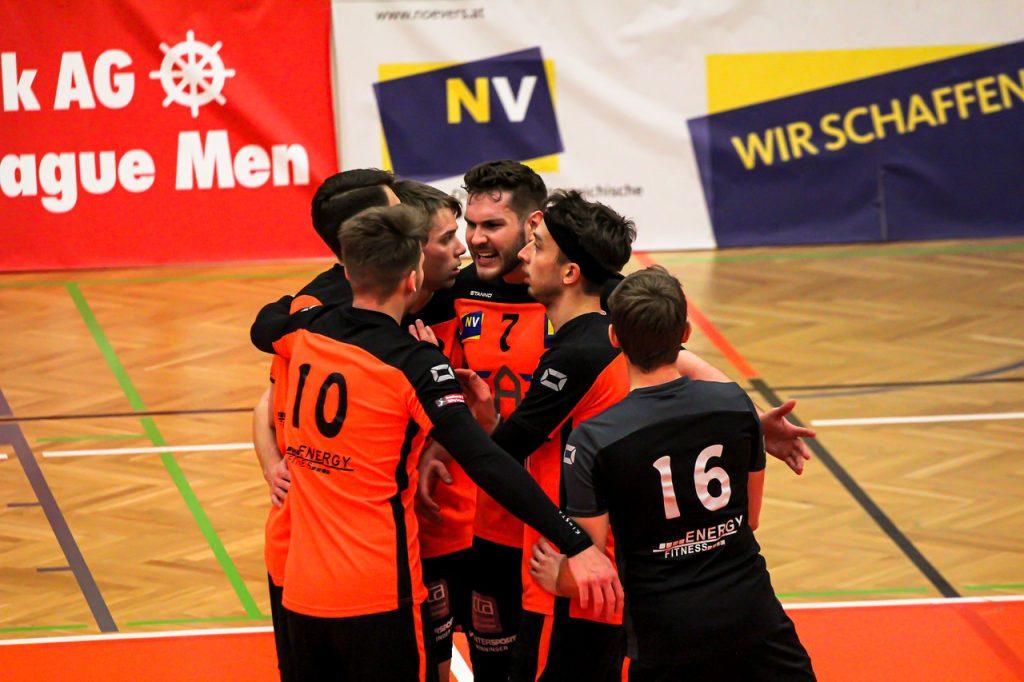 DenizBank AG Volley League Men - VCA Amstetten NÖ : SK Zadruga Aich/Dob - 10/02/2021 - Credit: Peter Maurer