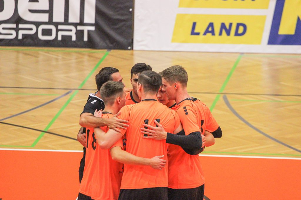 Austrian Volley League Men - 02/10/2021 - VCA Amstetten NÖ : TSV Raffeisen Hartberg - Johann-Pölz-Halle, Amstetten